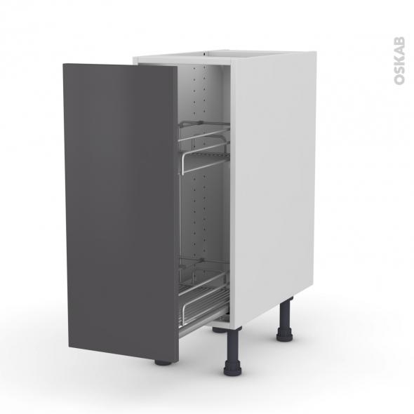 meuble range pice epoxy 1 porte l30xh70xp58 ginko gris oskab. Black Bedroom Furniture Sets. Home Design Ideas