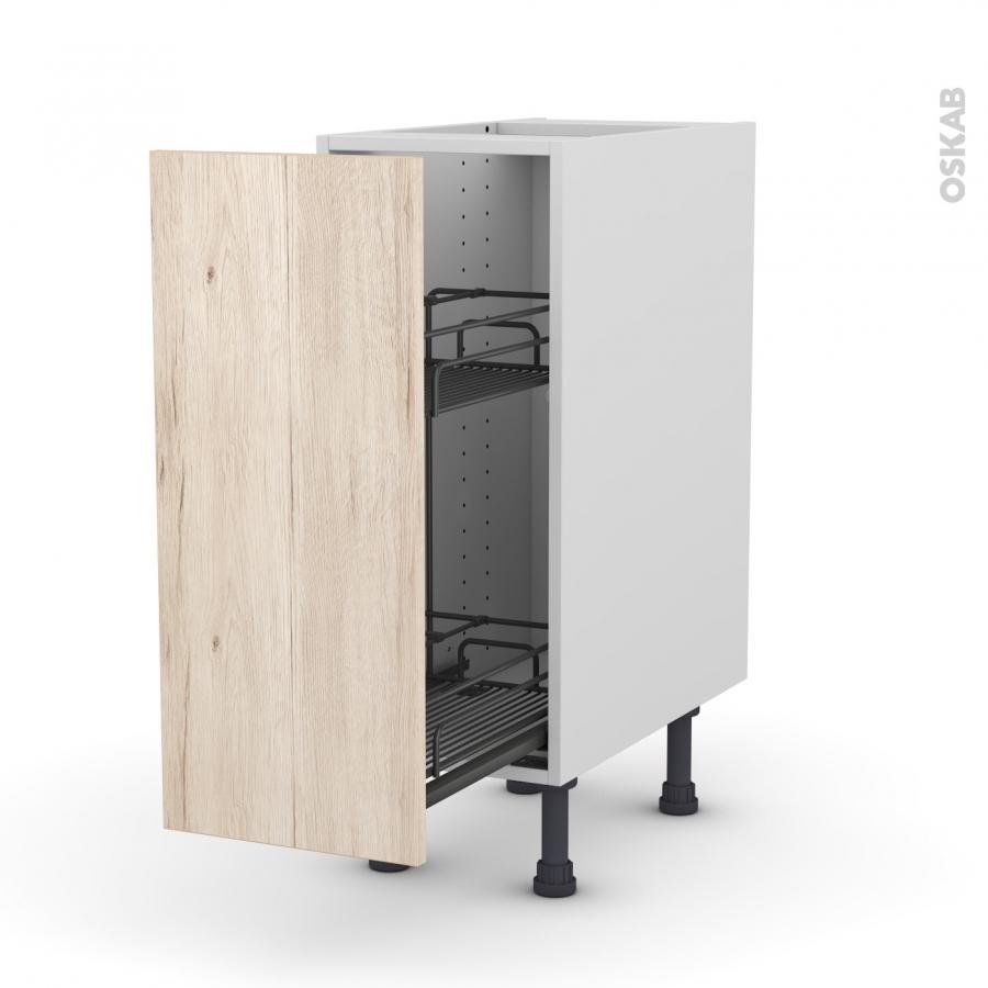 meuble de cuisine range pice epoxy ikoro ch ne clair 1. Black Bedroom Furniture Sets. Home Design Ideas