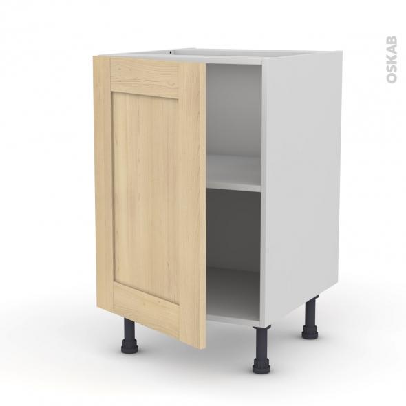 Betula bouleau meuble sous vier 1 porte l50xh70xp58 oskab - Monter un meuble sous evier ...