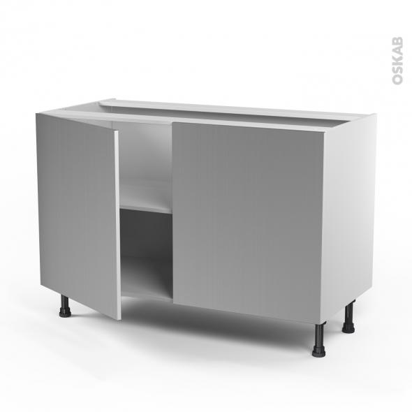 Meuble inox cuisine meuble cuisine inox exterieur de - Meuble evier ikea 120 ...