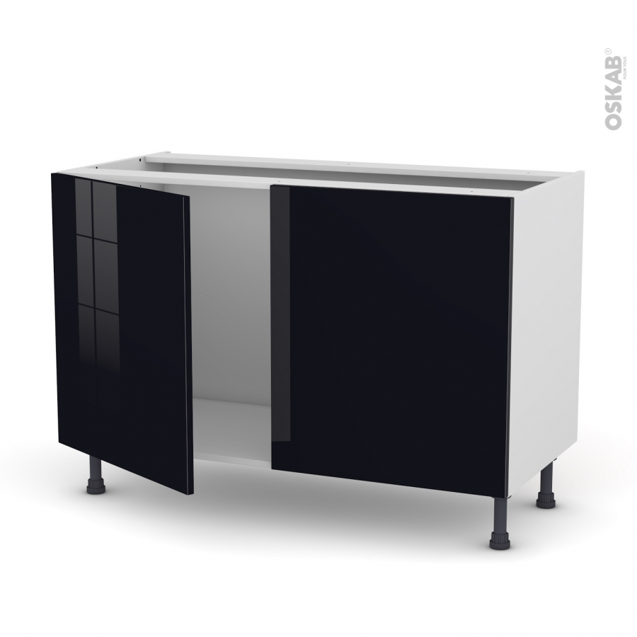 meuble sous evier cuisine 120 cm valdiz. Black Bedroom Furniture Sets. Home Design Ideas