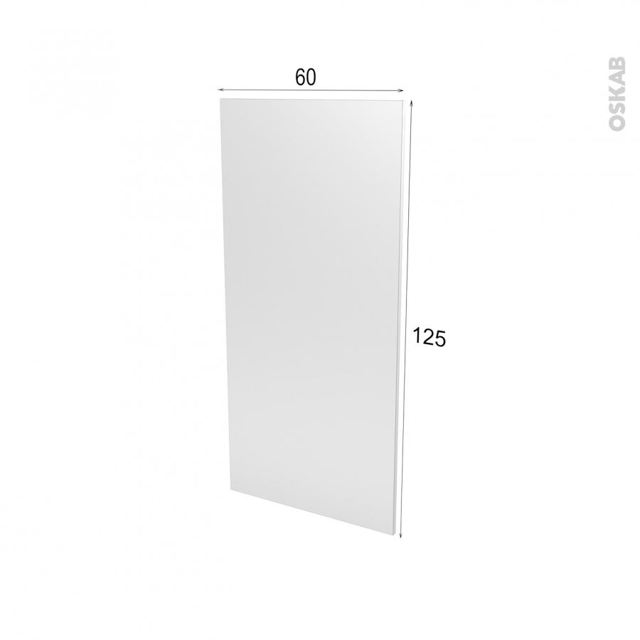 Fa ades de cuisine porte n 27 keria bleu l60 x h125 cm oskab for Porte cuisine 60 x 30
