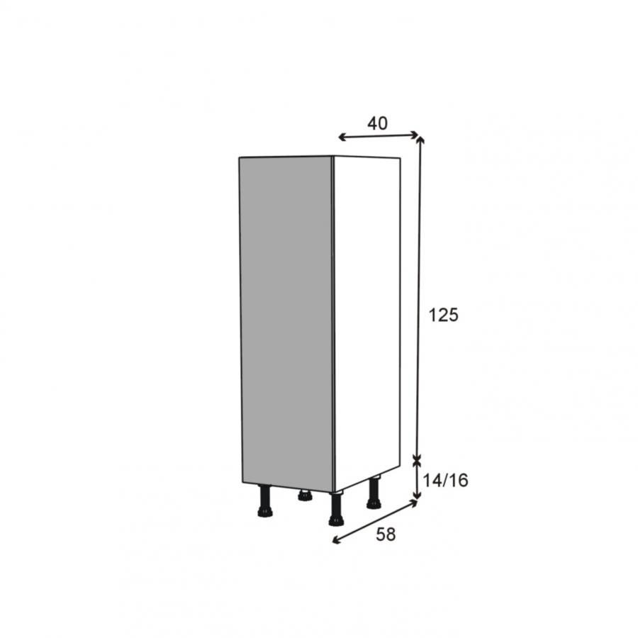 caisson colonne n 24 armoire de cuisine l40 x h125 x p56. Black Bedroom Furniture Sets. Home Design Ideas