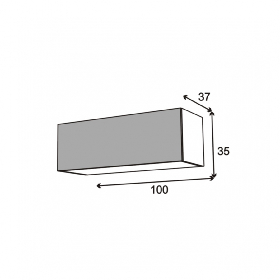 Meuble de cuisine haut abattant vitr fa ade noire alu 1 for Dimension meuble haut cuisine