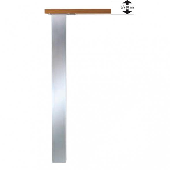 Plinthe cuisine pied de meuble oskab for Pied inox cuisine
