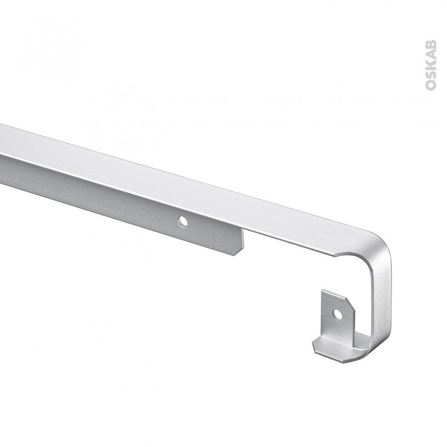 profil jonction d 39 angle alu plan de travail 38mm bord. Black Bedroom Furniture Sets. Home Design Ideas