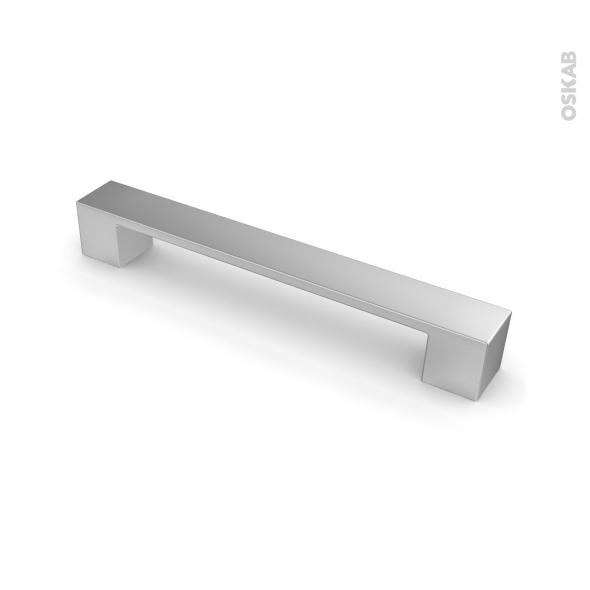poign e de meuble de cuisine n 4 vernis alu mat 19 5 cm entraxe 160 mm sokleo oskab
