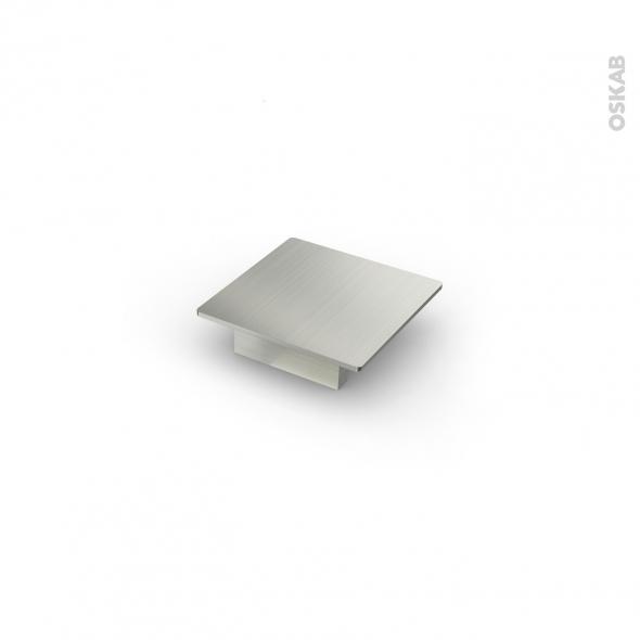 poign e de meuble de cuisine n 14 inox bross 7 3 cm entraxe 32 mm sokleo oskab. Black Bedroom Furniture Sets. Home Design Ideas