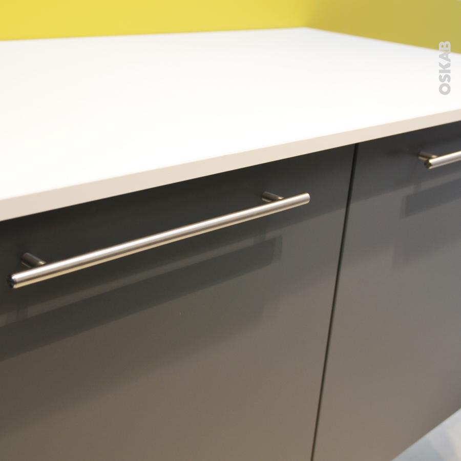 poign e de meuble de cuisine n 16 inox bross 89 7 cm entraxe 832 mm sokleo oskab. Black Bedroom Furniture Sets. Home Design Ideas