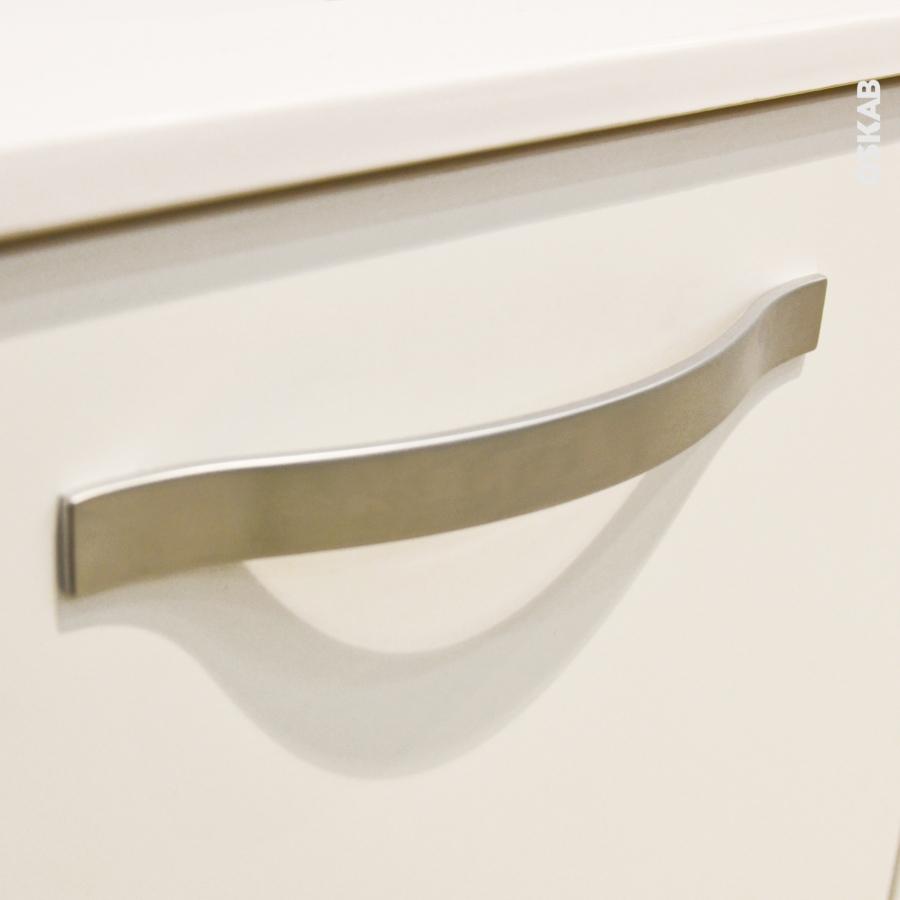 poign e de meuble de cuisine n 8 chrome mat 21 cm entraxe. Black Bedroom Furniture Sets. Home Design Ideas