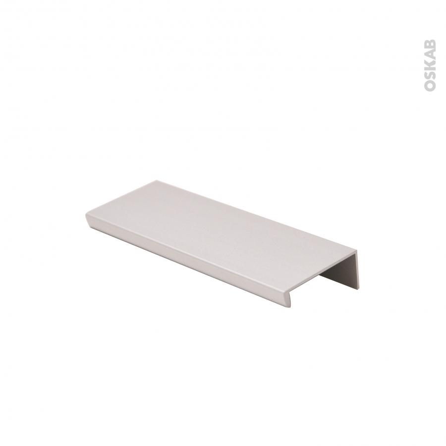 Poign e de meuble de cuisine pour porte aluminium 12 cm for Meuble aluminium cuisine