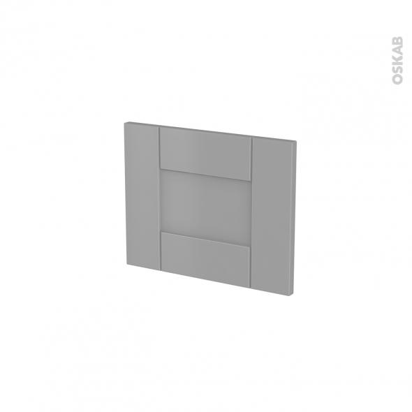 fa ades de cuisine face tiroir n 6 filipen gris l40 x h31 cm oskab. Black Bedroom Furniture Sets. Home Design Ideas