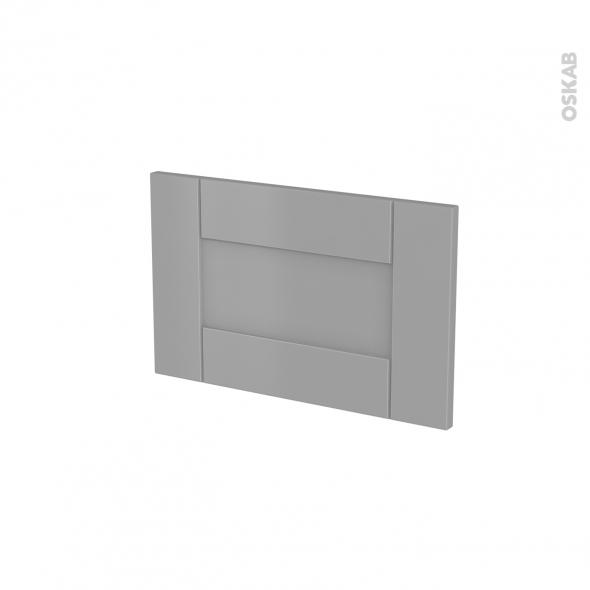 fa ades de cuisine face tiroir n 7 filipen gris l50 x h31 cm oskab. Black Bedroom Furniture Sets. Home Design Ideas