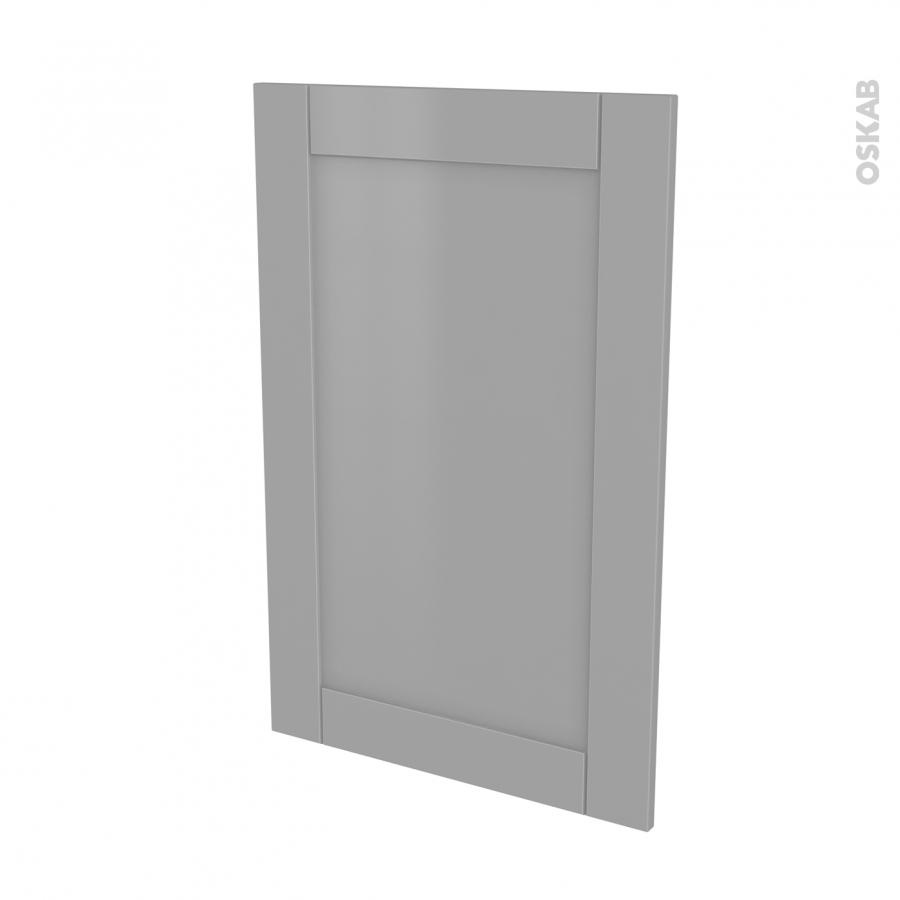 Fa ades de cuisine porte n 24 filipen gris l60 x h92 cm for Porte cuisine 60 x 90
