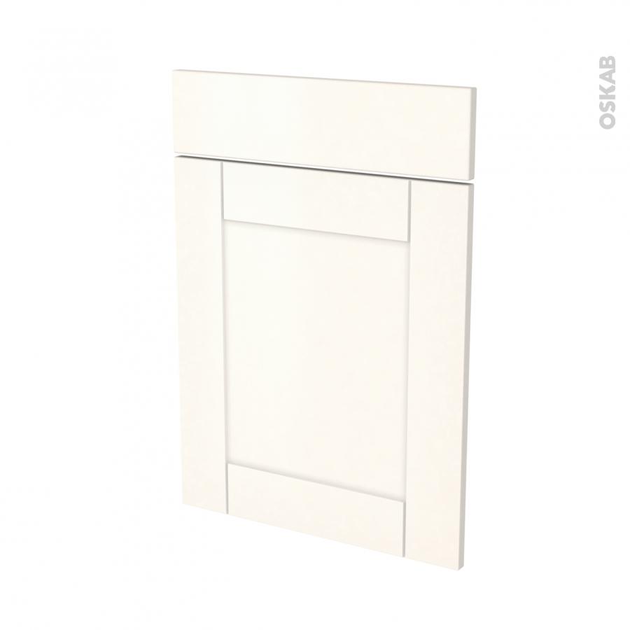Fa ades de cuisine 1 porte 1 tiroir n 54 filipen ivoire l50 x h70 cm oskab for Comfacade de cuisine seule