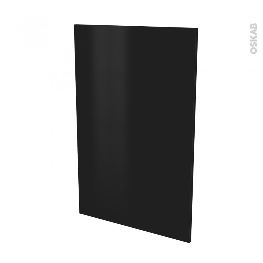 Fa ades de cuisine porte n 24 ginko noir l60 x h92 cm oskab for Porte cuisine 60 x 40