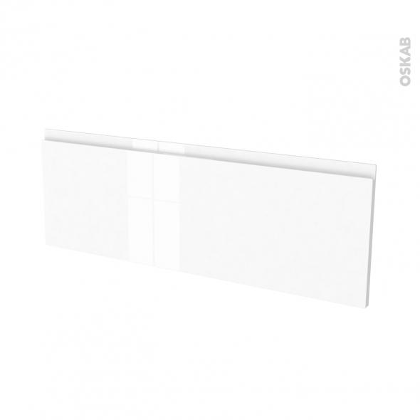 fa ades de cuisine porte n 12 ipoma blanc brillant l100 x h35 cm oskab. Black Bedroom Furniture Sets. Home Design Ideas