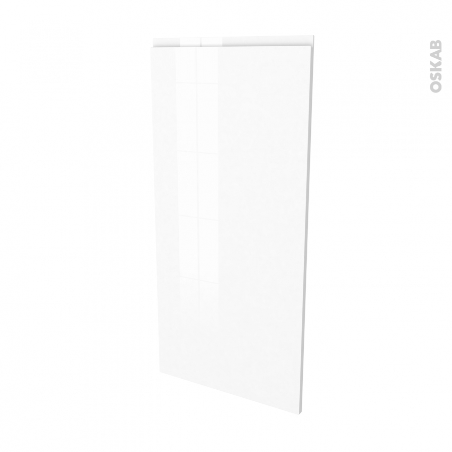 Fa ades de cuisine porte n 27 ipoma blanc l60 x h125 cm for Porte cuisine 60 x 90