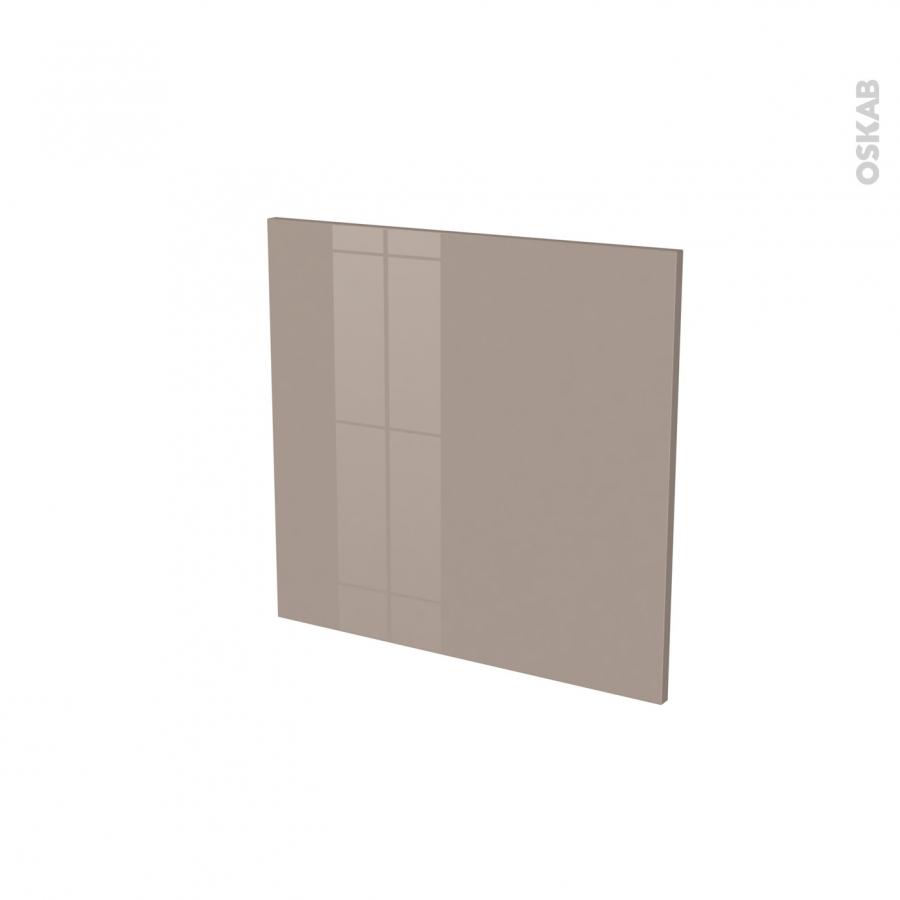 Fa ades de cuisine porte n 16 keria moka l60 x h57 cm oskab for Porte cuisine 60 x 90