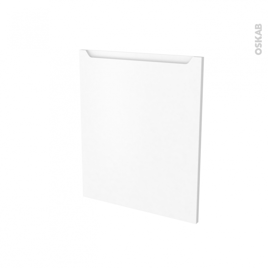 porte frigo sous plan int grable n 21 pima blanc l60 x h70 cm oskab. Black Bedroom Furniture Sets. Home Design Ideas
