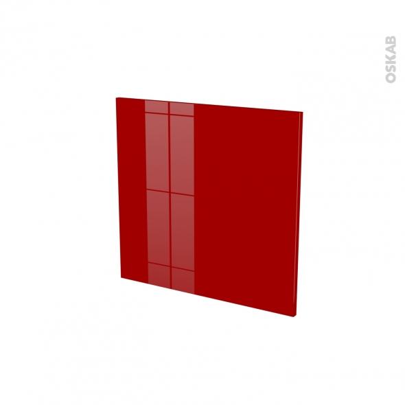 Porte n 16 lave vaisselle int grable l60xh57 stecia rouge for Porte cuisine 60 x 30
