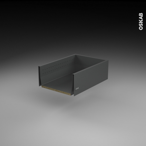 sokleo kit r novation 18 tiroir casserolier profond sortie totale frein l40xh17xp50 oskab. Black Bedroom Furniture Sets. Home Design Ideas
