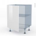BORA Blanc - Kit Rénovation 18 - Meuble bas cuisine  - 1 porte - L60xH70xP60