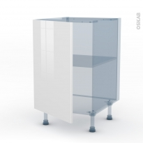BORA Blanc - Kit Rénovation 18 - Meuble bas cuisine  - 1 porte - L50xH70xP60