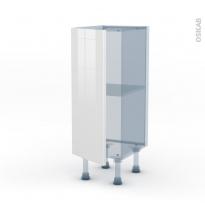 BORA Blanc - Kit Rénovation 18 - Meuble bas prof.37  - 1 porte - L30xH70xP37,5