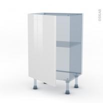 BORA Blanc - Kit Rénovation 18 - Meuble bas prof.37  - 1 porte - L50xH70xP37,5