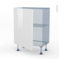 BORA Blanc - Kit Rénovation 18 - Meuble bas prof.37  - 1 porte - L60xH70xP37,5