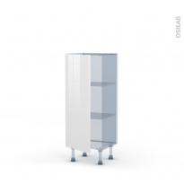 BORA Blanc - Kit Rénovation 18 - Meuble bas prof.37  - 1 porte - L40xH92xP37,5