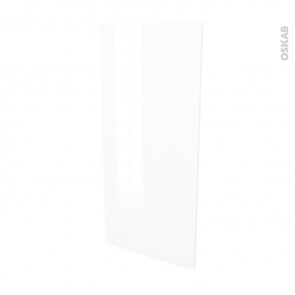 BORA Blanc - Rénovation 18 - joue N°80 - Avec sachet de fixation - L60 x H125 Ep.1.2 cm
