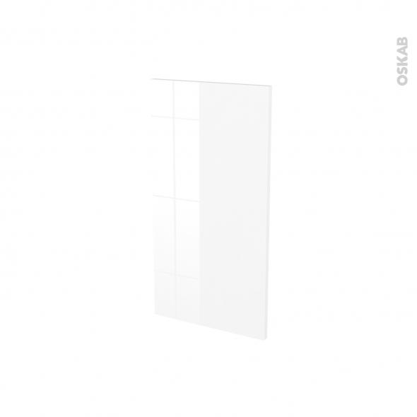 BORA Blanc - Rénovation 18 - joue N°81 - Avec sachet de fixation - L37.5 x H70 Ep.1.2 cm