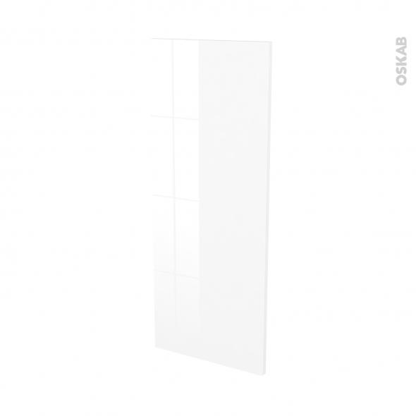 BORA Blanc - Rénovation 18 - joue N°82 - Avec sachet de fixation - L37.5 x H92 Ep.1.2 cm