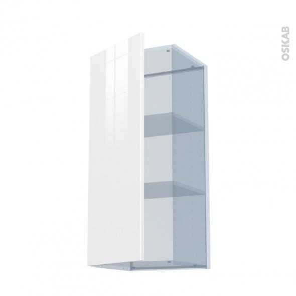 BORA Blanc - Kit Rénovation 18 - Meuble haut ouvrant H92  - 1 porte - L40xH92xP37,5