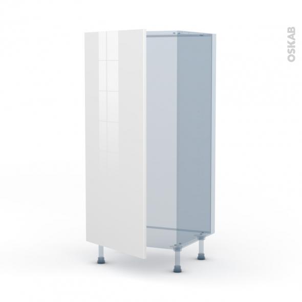 BORA Blanc - Kit Rénovation 18 - Armoire frigo N°27  - 1 porte - L60xH125xP60
