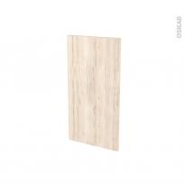 IKORO Chêne Clair - Rénovation 18 - joue N°81 - Avec sachet de fixation - L37.5 x H70 Ep.1.2 cm