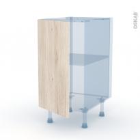 IKORO Chêne Clair - Kit Rénovation 18 - Meuble bas cuisine  - 1 porte - L40xH70xP60