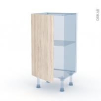 IKORO Chêne Clair - Kit Rénovation 18 - Meuble bas prof.37  - 1 porte - L40xH70xP37,5
