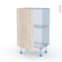 IKORO Chêne Clair - Kit Rénovation 18 - Meuble bas prof.37  - 1 porte - L50xH70xP37,5