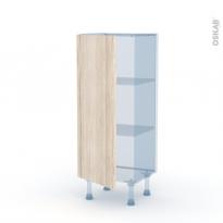 IKORO Chêne Clair - Kit Rénovation 18 - Meuble bas prof.37  - 1 porte - L40xH92xP37,5