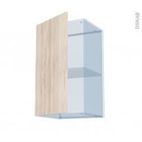 IKORO Chêne Clair - Kit Rénovation 18 - Meuble haut ouvrant H70  - 1 porte - L40xH70xP37,5