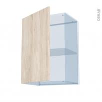 IKORO Chêne Clair - Kit Rénovation 18 - Meuble haut ouvrant H70  - 1 porte - L50xH70xP37,5