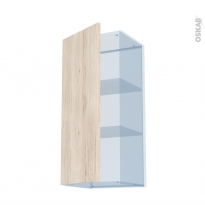IKORO Chêne Clair - Kit Rénovation 18 - Meuble haut ouvrant H92  - 1 porte - L40xH92xP37,5