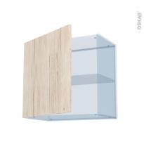 IKORO Chêne Clair - Kit Rénovation 18 - Meuble haut ouvrant H57 - 1 porte - L60xH57xP37,5
