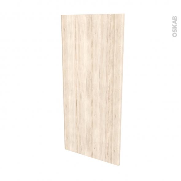 IKORO Chêne Clair - Rénovation 18 - joue N°80 - Avec sachet de fixation - L60 x H125 Ep.1.2 cm