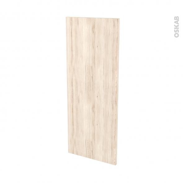 IKORO Chêne Clair - Rénovation 18 - joue N°82 - Avec sachet de fixation - L37.5 x H92 Ep.1.2 cm