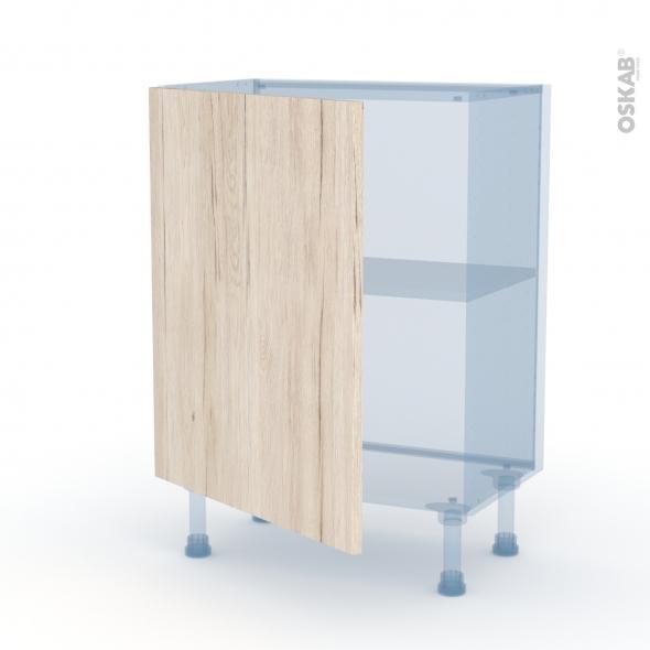IKORO Chêne Clair - Kit Rénovation 18 - Meuble bas prof.37  - 1 porte - L60xH70xP37,5