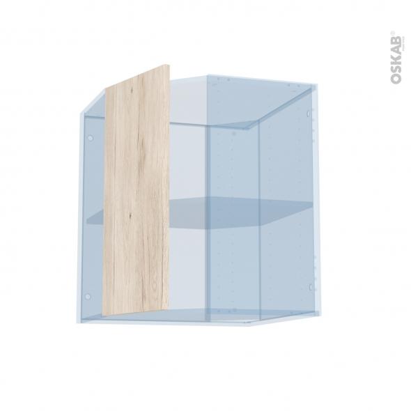 IKORO Chêne Clair - Kit Rénovation 18 - Meuble angle haut - 1 porte N°77 L32 - L60xH70xP37,5